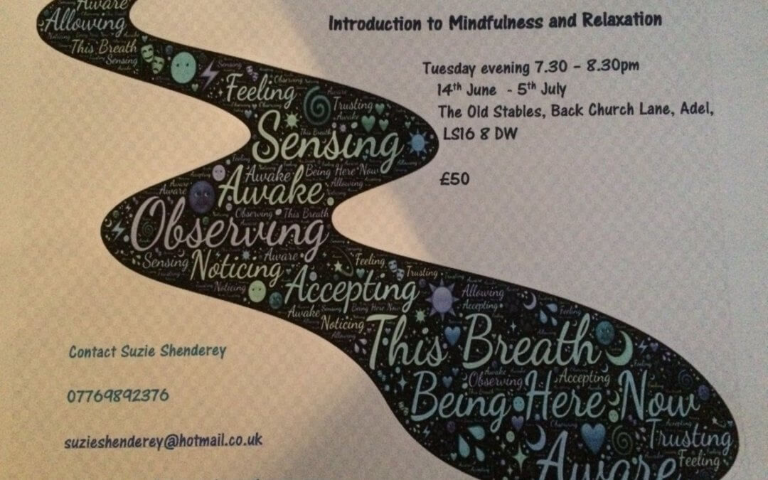 Mindfulness and Relaxation Workshops June/July